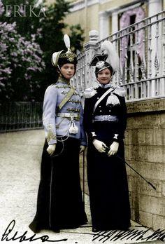 Olga and Tatiana by ~madamescandaleuse on deviantART