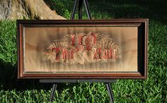 1800's Antique Victorian Perforated Paper Embroidery