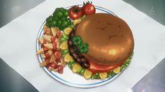 """Rina makes the """"Sunflower Burger"""", Photokano, Episode 11."""
