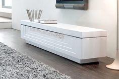 Meuble tv laqué blanc Hudson prix promo Declikdeco 469,00 € TTC au lieu de 8b15db8aeccc