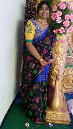 Latest Sarees, Sari, In This Moment, Blouse, Fashion, Saree, Moda, Blouses, Fasion