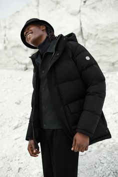 Quartz Co. Down Insulated Winter Jacket Made in Canada Serge Ibaka, Winter Warmers, Cold Weather, How To Make, How To Wear, Winter Jackets, The Incredibles, Stylish, Campaign