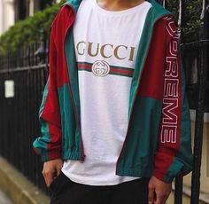 Gucci X Supreme (via @shotsbykai Instagram)