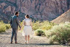 Jeremy could't keep his eyes off of his beautiful bride Emily. ♥ #vegaswedding #nelsonghosttownwedding #photographer