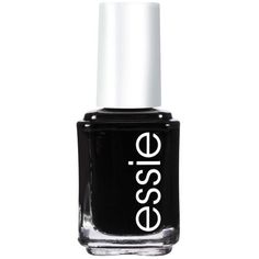 Essie Licorce Nail Color found on Polyvore featuring beauty products, nail care, nail polish, beauty, makeup, nails, essie, licorce, holiday nail polish and essie nail polish