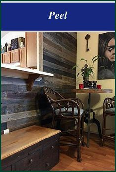 Peel & Stick Rustic Reclaimed Barn Wood Paneling | Real Wood Paneling | Wainscott | Wall Paneling Ideas | Wall Panel Ideas Cheap. #woodpanel #home Woodworking Saws, Easy Woodworking Projects, Wood Projects, Paneling Makeover, Paneling Ideas, Wood Panel Walls, Wood Wall, Wainscott Walls, Painting Wood Paneling