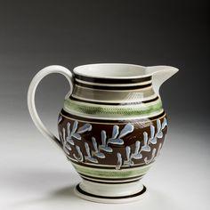 Antique mocha ware jug.