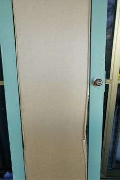 We have been busy building the french doors for our tiny house. In this post, I will explain how to build your own set of french doors. Diy Door, Tiny Living, French Doors, Tiny House, Building, Green, Buildings, Tiny Houses, Construction