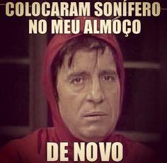Chapolin kkkkkkkk Memes Humor, Frases Humor, Jokes, Laugh A Lot, Try Not To Laugh, Portuguese Quotes, Tough Love, Good Humor, Funny Messages