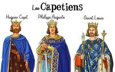 Trace écrite Les Capétiens