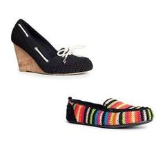 The Sak Crochet Loafers...love these