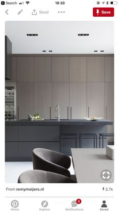 Today we will show you the 5 kitchen trends 2018 that will be IN because the new year also means new kitchen design. Interior Desing, Interior Design Kitchen, Grey Kitchens, Home Kitchens, Modern Kitchens, Bespoke Kitchens, Home Decor Kitchen, New Kitchen, Kitchen Lamps