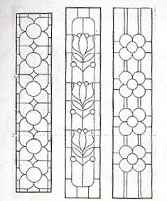 glass panels Sidelights, Fanlights and Transoms Stained Glass Pattern Book Glass Painting Designs, Stained Glass Designs, Stained Glass Projects, Stained Glass Patterns, Mosaic Patterns, Art Patterns, Stained Glass Door, Stained Glass Panels, Leaded Glass