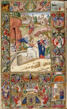 Oficios de la semana-Andrea Matteo Acquaviva- Sur de Italia 1519- HM 1046 Huntington Library