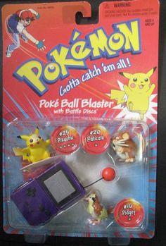 Pokemon Purple Poke Ball Blaster Battle Discs Pikachu, Raticate, Pidgey NOS Gen 1 Pokemon, Pokemon Toy, Pikachu, Pokemon Birthday Cake, 7th Birthday, Anime Cake, Pokemon Merchandise, 90s Kids, Childhood Memories