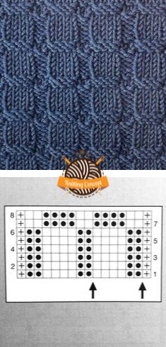 HOW TO KNIT STRUCTURAL PATTERN 22 – Knitting Concept Owl Knitting Pattern, Knitting Stiches, Knitting Charts, Stitch Patterns, Knitting Patterns, Crochet Patterns, Crochet Motif, Knit Crochet, Crochet Tools