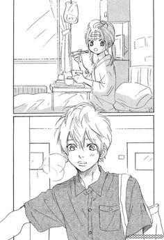 [bokura ga ita] this scene made me creo so much, the face of Yano when he arrived to see Nanami❤️❤️ My Little Monster, Little Monsters, Bokura Ga Ita Manga, Love So Life Manga, Gundam Build Fighters Try, Plastic Memories, Manga Couple, Kawaii Shop, Nanami