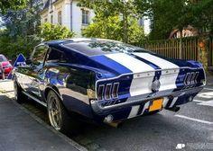 1968 Mustang Fastback