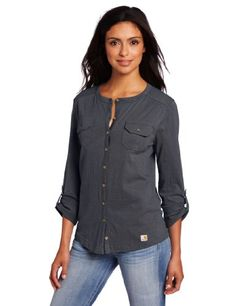 Carhartt Women`s Womens Madison Shirt - List price: $40.00 Price: $22.19 Saving: $17.81 (45%) + Free Shipping