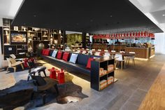 citizenM Hotels have opened a new location of their distinctive accommodations designed by Concrete Architectural Associates.