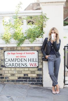 LOOK OF THE DAY – NOTTING HILL, LONDON