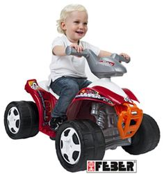 FEBER QUAD INFANTIL 82 DE 6V. DE 1 A 3 AÑOS. FEBER 7633, IndalChess.com Tienda de juguetes online y juegos de jardin