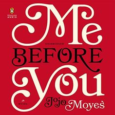 """Another must-listen from my #AudibleApp: """"Me Before You"""" by Jojo Moyes, narrated by Susan Lyons."""