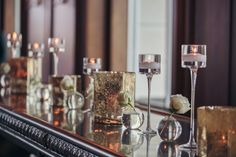 Deep Purple and Gold Wedding Details
