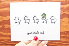 Funny Card - You're One of a Kind