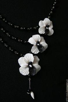 """Создаем цветок """"Орхидея"""" из полимерной глины - Ярмарка Мастеров - ручная работа, handmade"""