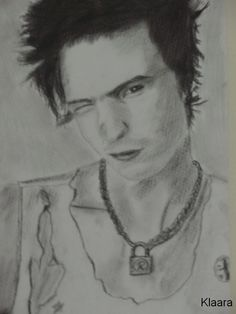 Sid Vicious by Klaarka on DeviantArt