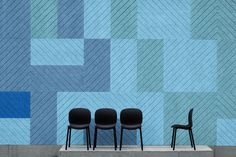 Form Us With Love's company BAUX is back with a new collection of large, eco-friendly acoustic wall panels that let you create geometric compositions.
