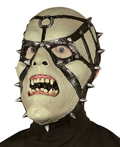 Sadistic Vampire Spikes Scary Creepy Latex Adult Halloween Costume Mask *** Check out this great product.
