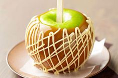 Peanut Butter-Swirl Caramel Apples recipe