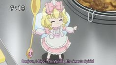 I am going to make Vanilla the mascot for this folder :p I think its very fitting :p  btw this is from Yumeiro Patissiere. This anime is all about BAKING!!!  gotta nerd it up a bit.