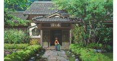 Anime Dvd, Anime Films, Otaku Anime, Anime Ghost, Japanese Animated Movies, Animation Background, Ways To Relax, Japanese Culture, Studio Ghibli