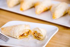 Gojee - Crawfish Phyllo Triangles by Use Real Butter Crawfish Recipes, Cajun Recipes, Seafood Recipes, Italian Cheese Bread, Spanakopita Recipe, Great Recipes, Favorite Recipes, Good Food, Yummy Food