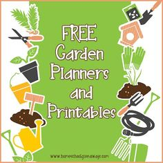 FREE Garden Planners and Printables
