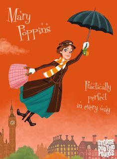 Mary Poppins by GeorgeD.deviantart.com on @deviantART