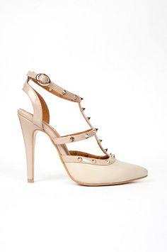 Studded+Strap+Heels+%2448+at+www.tobi.com Finally a great Valentino knockoff under $50