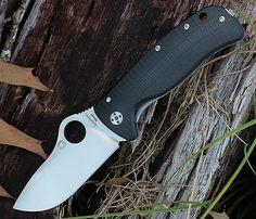 Spyderco Lil' Lionspy C181GTIP, Elmax Blade Steel, G-10 & Titanium Handle, PRE-ORDER