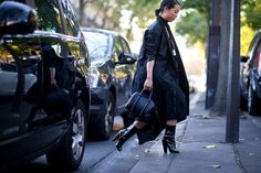 Paris Fashion Week street style inspiration (Vogue.co.uk)