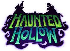 Haunted Hollow  LOGO ,Header
