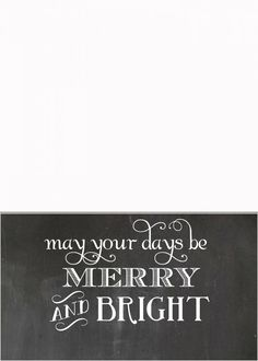 Free Holiday Photo Card Templates  Free Christmas Card
