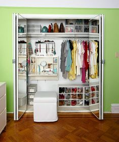 Design Your Dream Closet | Stylish solutions that will turn every chaotic storage space into an ordered haven.