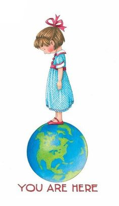 Art of Mary Engelbreit You are here Mary Engelbreit, Earth Day, Art Quotes, Cute Pictures, Whimsical, Awakening, My Arts, Clip Art, My Favorite Things