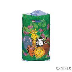 Zoo Animal Goody Bags - OrientalTrading.com
