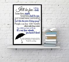 IN OMNIA PARATUS  Check out this item in my Etsy shop https://www.etsy.com/listing/450661196/in-omnia-paratus-gilmore-girls-quote