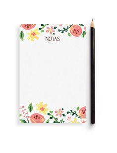 "Bloc de Notas ""Spring"""