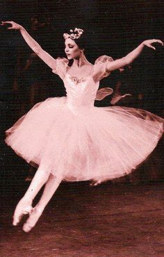 Gelsey Kirkland is an American ballerina. Kirkland joined the New York City Ballet in 1968 at age fifteen, at the invitation of George Balanchine. She was promoted to soloist in 1969 and principal in 1972. Wikipedia